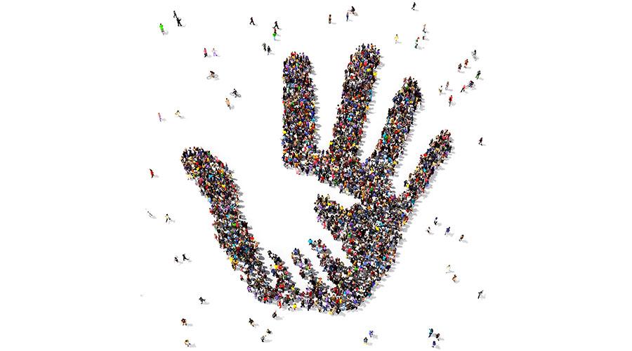 people hand