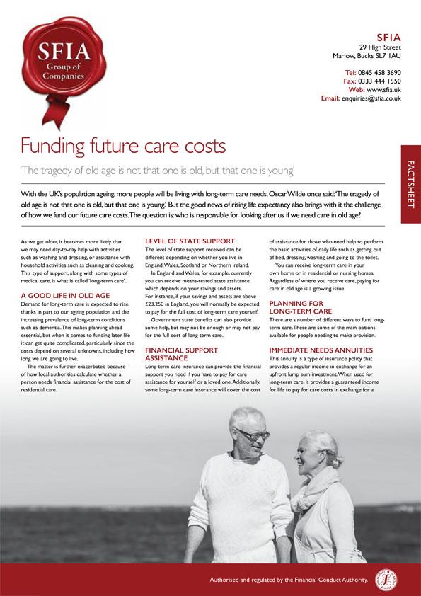 Future Care Costs