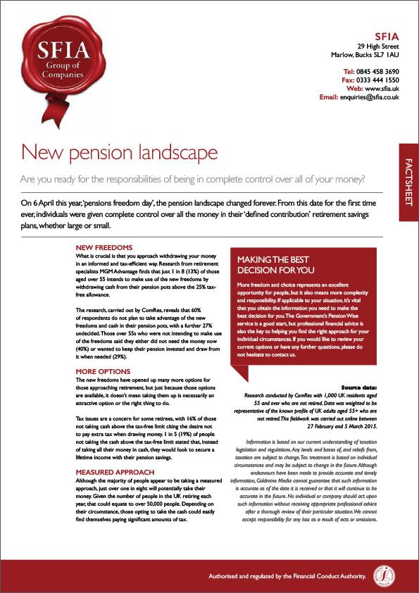 Pension Landscape