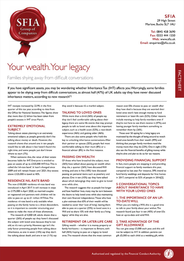 Your Wealth Your Legacy