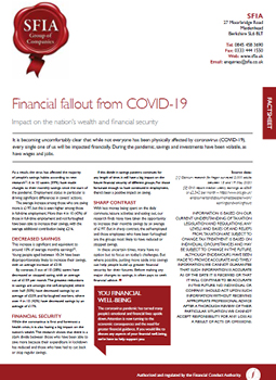Financial fallout from covid-19 cover photo
