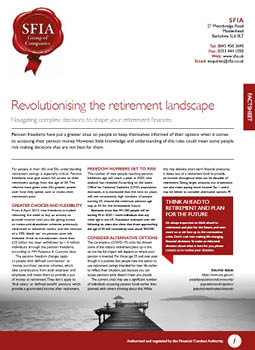 Revolutionising the retirement landscape image