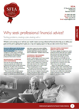 why seek professional financial advice image
